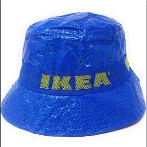 IKEA Knorva Bucket Hat Blue & Yellow
